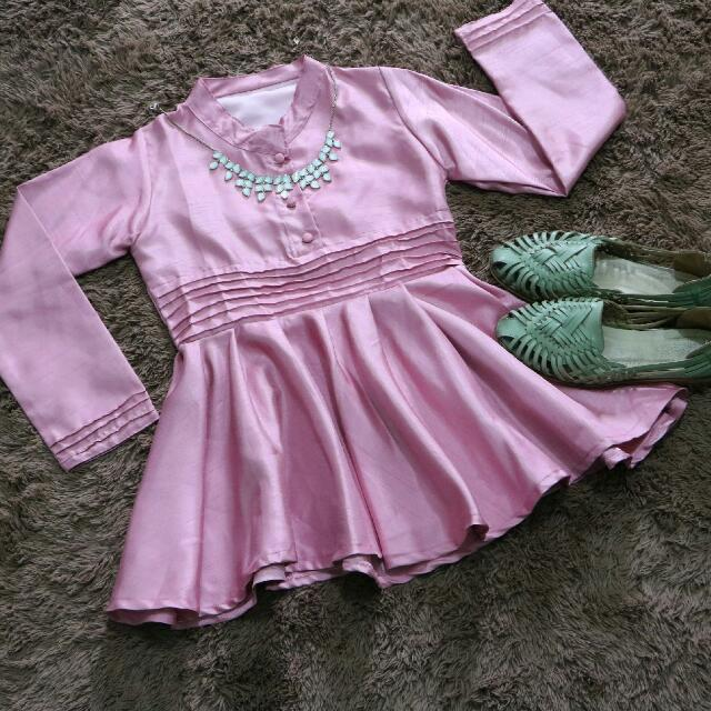 Sweet Pink Party [Preloved Atasan/Baju]