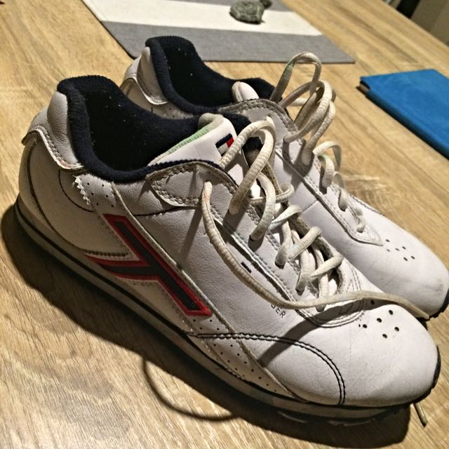 Tommy Hilfiger Leather Trainers