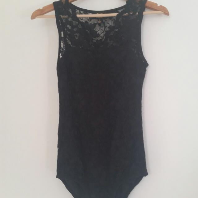 Womens Lacey Body Suit
