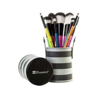 現貨一個 含運費 bh cosmetic 十件刷具組 彩色 現貨