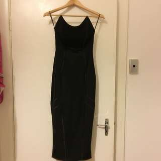 Micha Collection Black Dress Size S