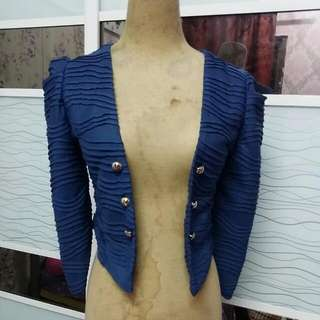 Navigation Blue Cardigan
