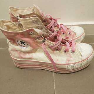 """PENDING Platform """"Max Star"""" Converse Style Shoes"""