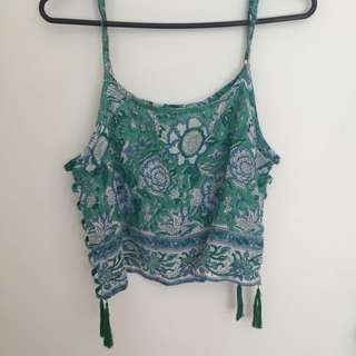 Tree Of Life Cropped Top