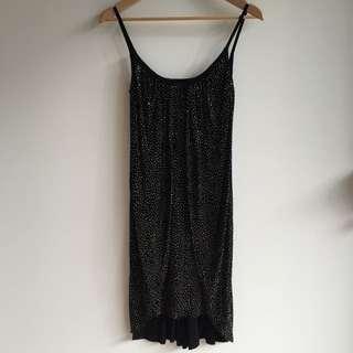 Versace For H&M Black Dress - Size US 6 - Aus 8-10