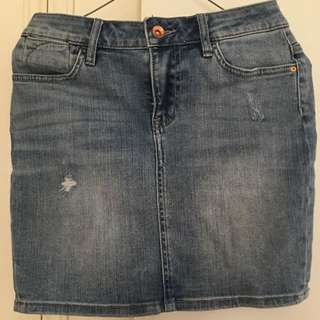 Jack Denim Mini Skirt