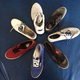 Vans Sperry Nike DC shoes