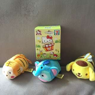 7-11 Special Edition Sanrio Characters