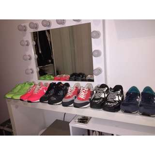 Assorted NIKE Shoes