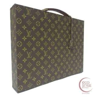 Authentic LOUIS VUITTON Attache case monogram trunk Brown 507-3 6.04 Price 1080 USD