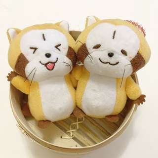日本來貨浣熊掛飾