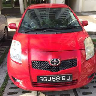 CHEAP CAR $375/W FOR UBER GRAB  TOYOTA YARIS 1.5 AUTO/MANUAL EXCELLENT FUEL ECONOMY