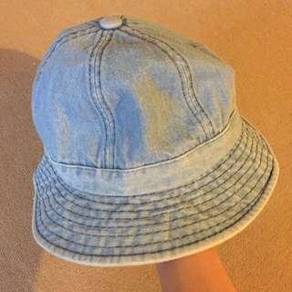 淺色牛仔布 文青漁夫帽