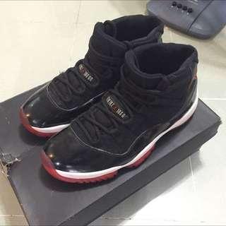 Air Jordan 11 bred Us 9 80%new