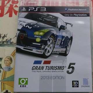 PS3 Gran Turismo 5 2013edition跑車浪漫旅5 2013版本