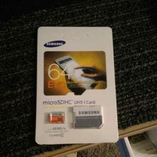 Samsung Evo 64gb Card