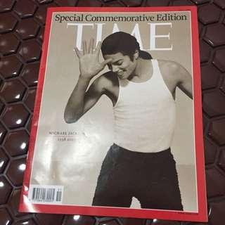 Michael Jackson Special Commemorative Edition Time