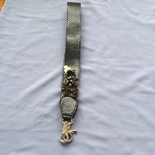 Never Been Used Black Strap