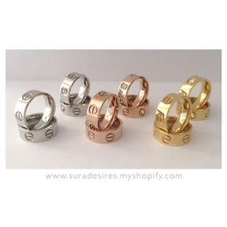Love Rings - Available In 6 Styles