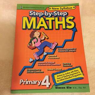 Primary 4 Step By Step Maths