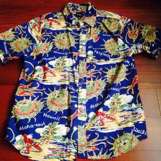 HUF Hawaii 襯衫 M號