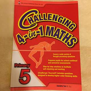 Challenging 4 In 1 Maths