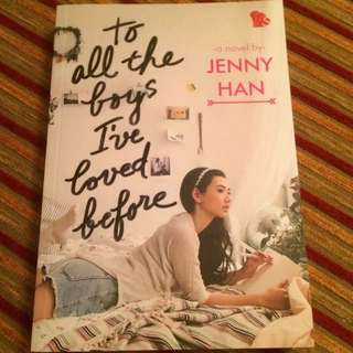 To All The Boys I've Loved Before (indonesian)