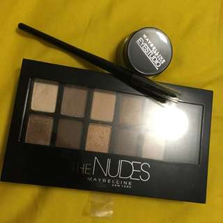 Maybelline The Nude Pallete X Eyestudio