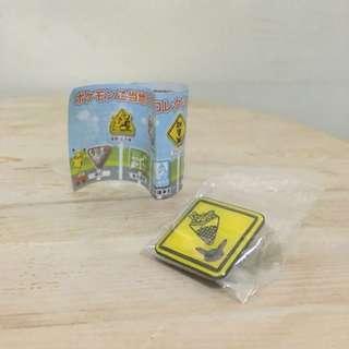 神奇寶貝-當地的收藏胸針 扭蛋 東京限定 日本正版