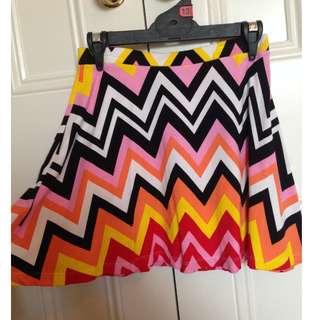 Tiger Mist Pattern Summer Skirt