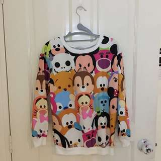 Tsum Tsum Pull Over Top