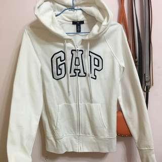 GAP白色外套xs號