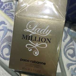 ON HOLD Lady Million Paco Robanne