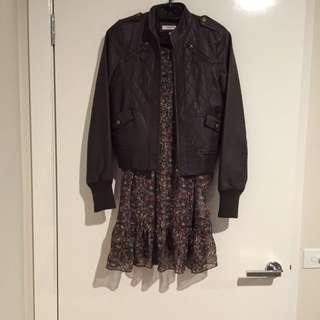 (pending) Vintage Sheer Floral Summer Dress