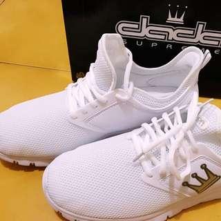 全新❤️dada時尚輕質慢跑鞋-極簡白