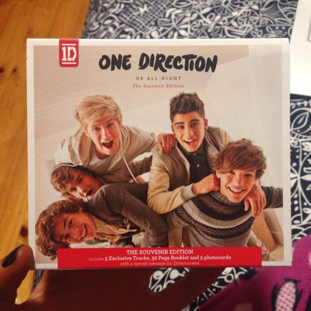 1D Up All Night The Souvenir Edition