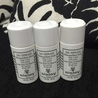 sisley極淨植物保養卸妝液30ml*3瓶