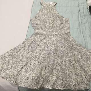 Zimmerman Silk Dress Size 0 In Perfect Condition