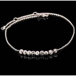 18k platinum anklet / bracelet