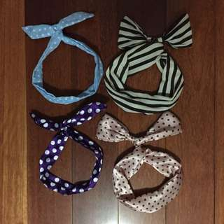Wired Hair Bands New Free Post