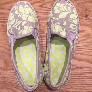 ROXY 膠底懶人鞋 37號 23.5