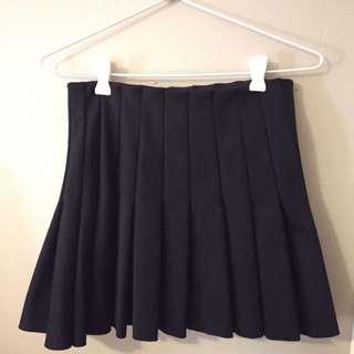 Black Tennis Skirt by Forever21