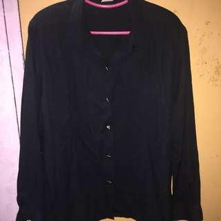 Black Vintage Blouse