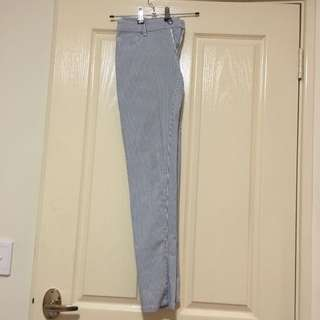Pin Strip Jeans Size 10