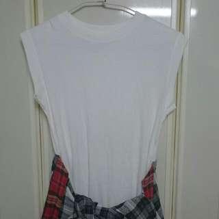 造型上衣 白T-shirt