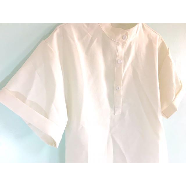 韓版雪紡蝙蝠衫