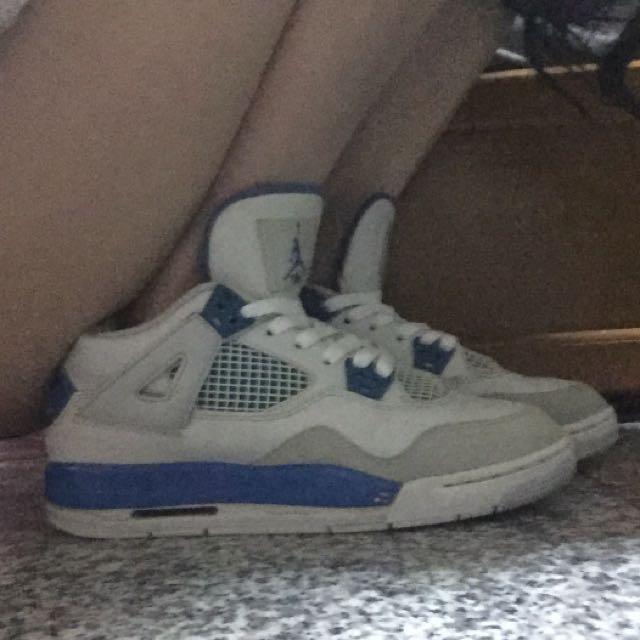 正品四代藍白 喬丹 Jordan 6y 24