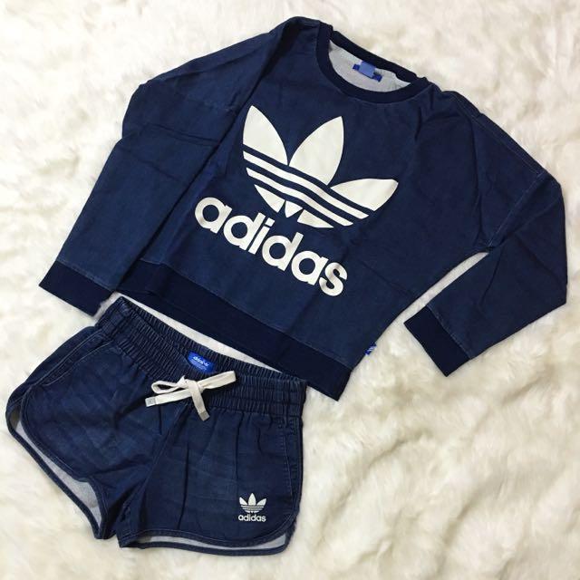 ADIDAS ORIGINALS Pullover & Short