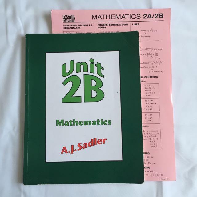 AJ Sadler 2B Mathematics