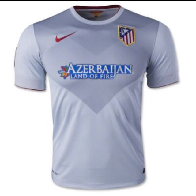 newest 68d72 7732b Atletico Madrid Replica Jersey